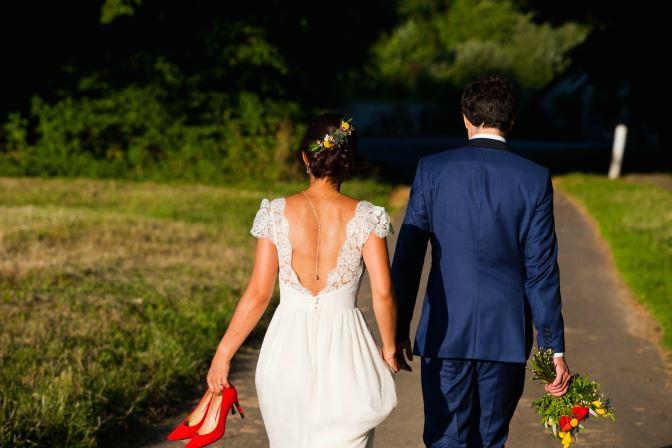 mariage shabby chic