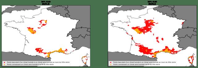 Augmentation du risque de sécheresse en France avec le réchauffement climatique