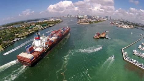blobid0 1522703583012 - NOAA joins with PortMiami to let larger cargo ships safely enter seaport