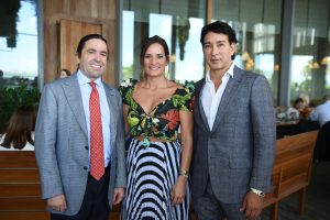 Frank Unanue Cynthia Chipi Rene Ruiz Photo WorldRedEye 300x200 - Pérez Art Museum Miami Honors Funding Arts Network, Goya Foods of Florida, and Naeem Khan at its 11th Annual Corporate Luncheon.