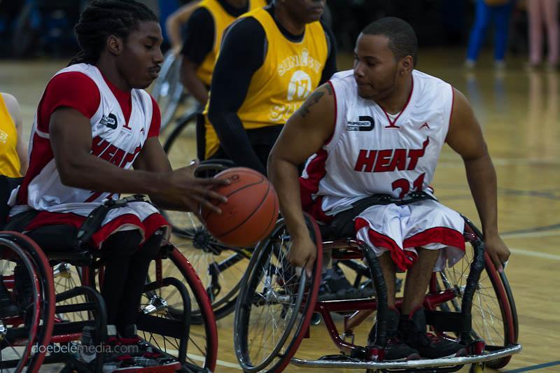 """Miami HEAT Wheels players - El evento """"Experiencia Paralímpica"""" llega alTropical Parkel 9 de marzo"""
