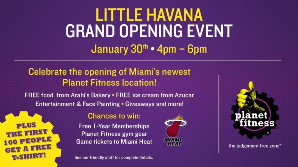 Pg 7 ENG FLMiamLH 1920x1080DigSign 0119 - PLANET FITNESS ANNOUNCES GRAND OPENING OF GYM IN LITTLE HAVANA