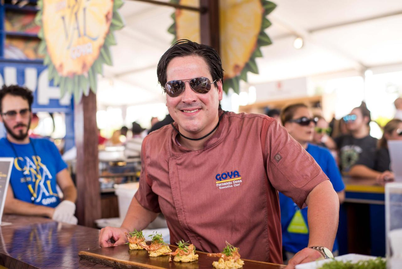 Goya GTV Selects 9 1280x855 - Goya Foods presentó una experiencia única de Carnaval en el festival Food Network & Cooking Channel South Beach Wine & Food Festival del 2019