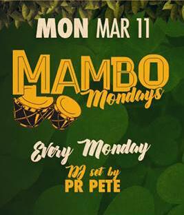 Mambo Monday flyer