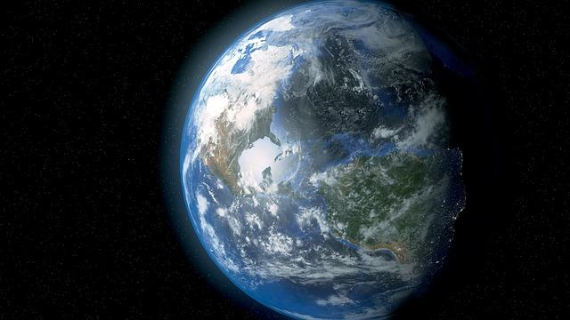 Space-view of the earth