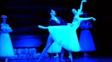 Ballet performance of Giselle