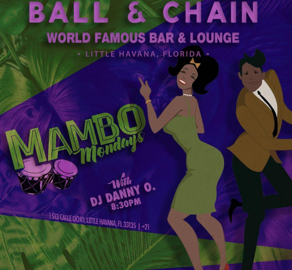 Mambo Mondays! Promotional flyer