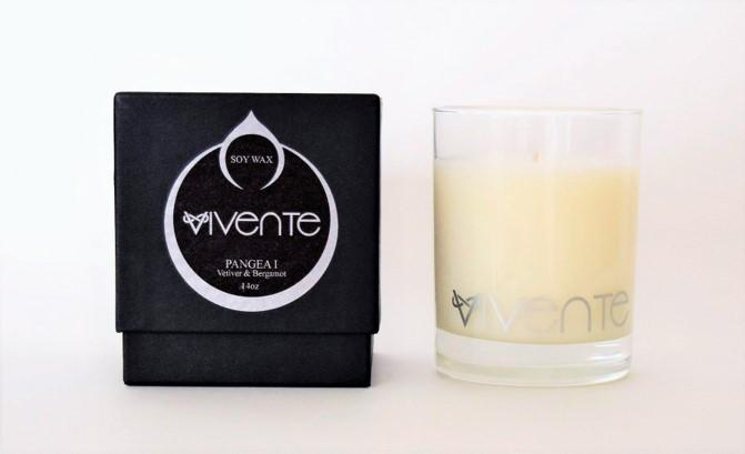 Male scented candle picture