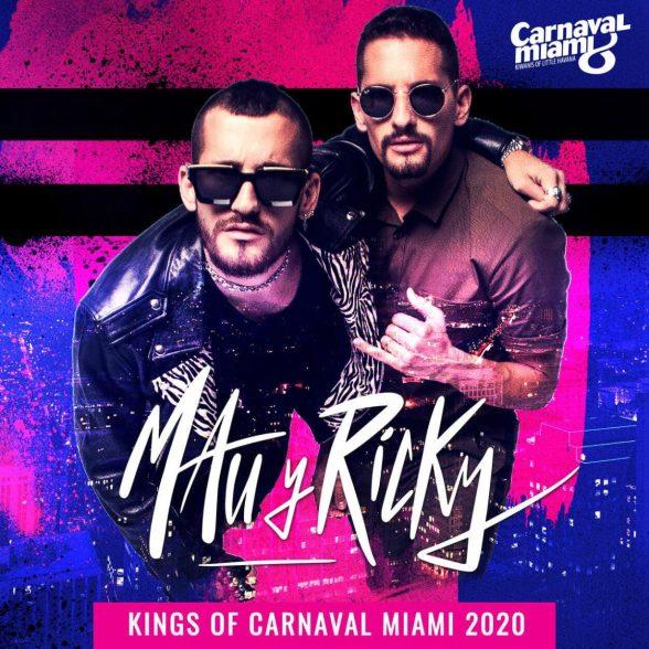 Mau y Ricky - Carnaval de Miami Mantiene la Música en Familia
