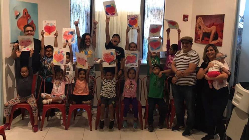 Rainbow Art Class May 2019 - Rainbow Art Class, transforming the lives of children