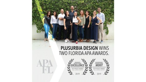 Plusurbia wins two Florida APA Awards