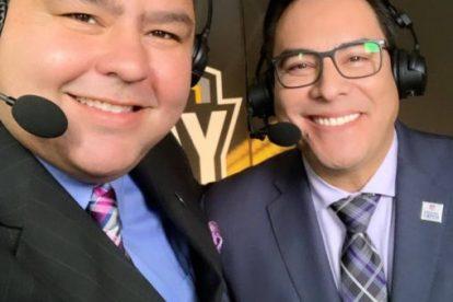 Fox Deportes Rolando y Adrian - FOX DEPORTES CELEBRA LOS 100 AÑOS DE LA NFL Y SU TRANSMISIÓN EXCLUSIVA DEL SUPER BOWL LIV EN VIVO DESDE MIAMI