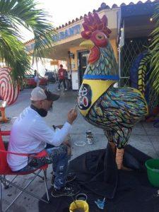 """artist e1574675908896 225x300 - Los """"Gallos"""" de Pablo reciben un cambio de imagen justo a tiempo para Art Basel 2019"""