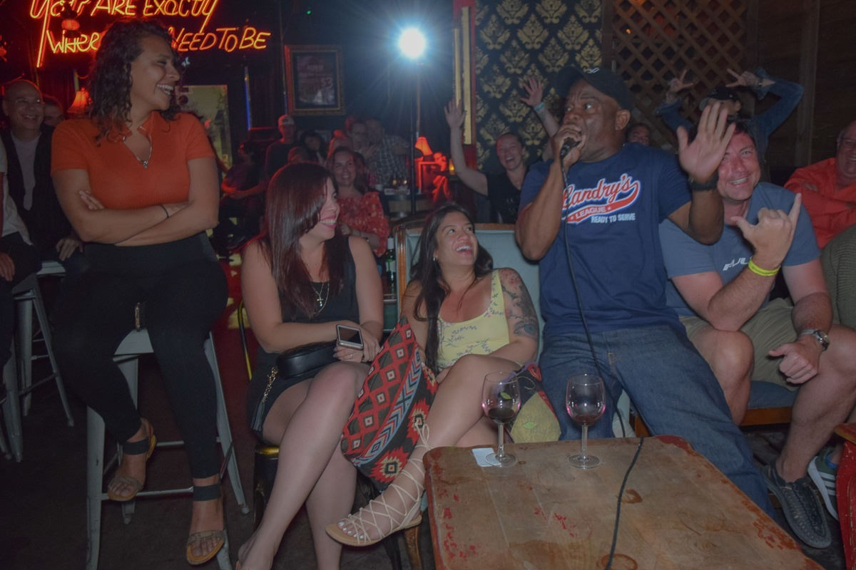 Redbar Comedy HNight 4 8 19 22 - Top 8 Stand Up Comedy Nights in Miami
