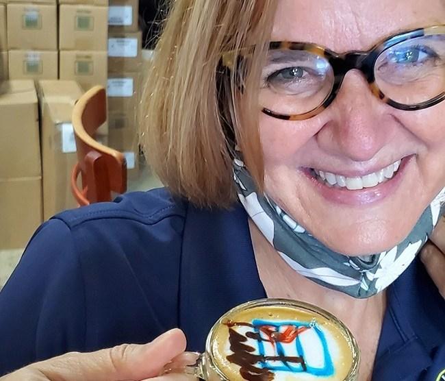 eileen higgins coffee - Eileen Higgins is still leading by example