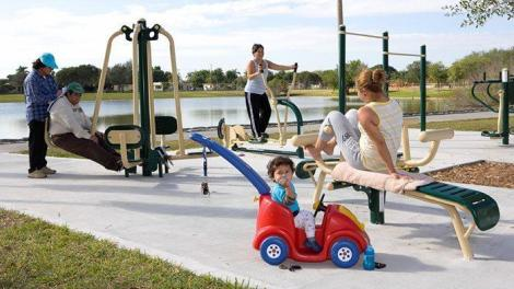 """fl leisurelakesparkFZ - New """"Fitness Zone"""" at Tropical Park opens June 13 at 11 a.m."""