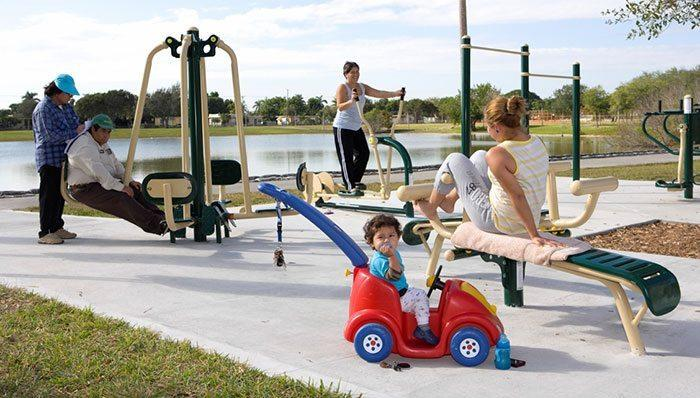 "fl leisurelakesparkFZ - New ""Fitness Zone"" at Tropical Park opens June 13 at 11 a.m."