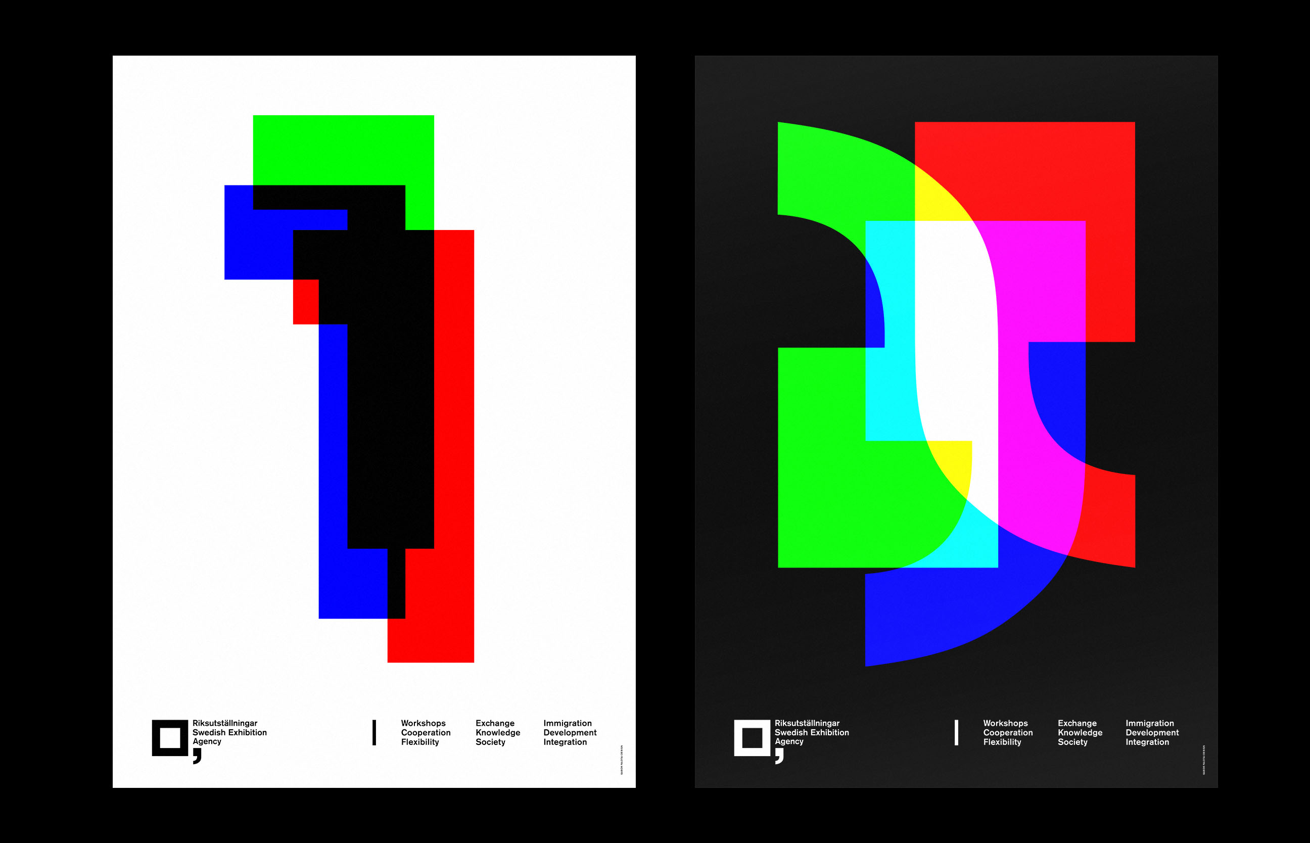 Swedish Exhibition Agency – Poster Series