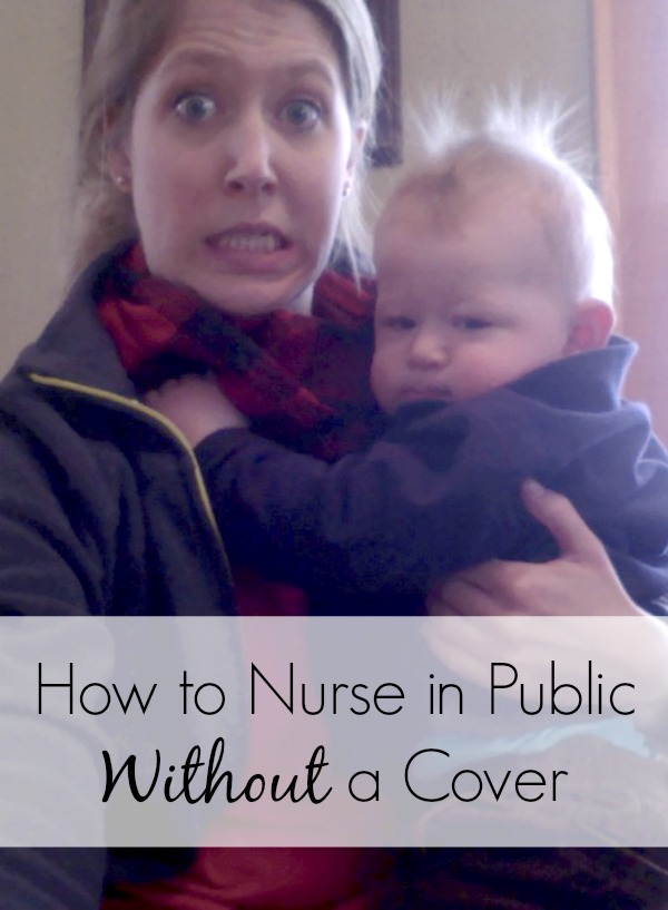 If you've been wanting to try nursing in public, watch this vlog to see how easy it really is. See if it is right for you and your baby boy or baby girl. This tutorial comes complete with Indiana Jones imagery. Lucky you. | breastfeeding | breastfeeding positions | breastmilk