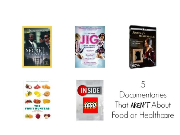 5 Documentaries That Aren't About Food or Healthcare
