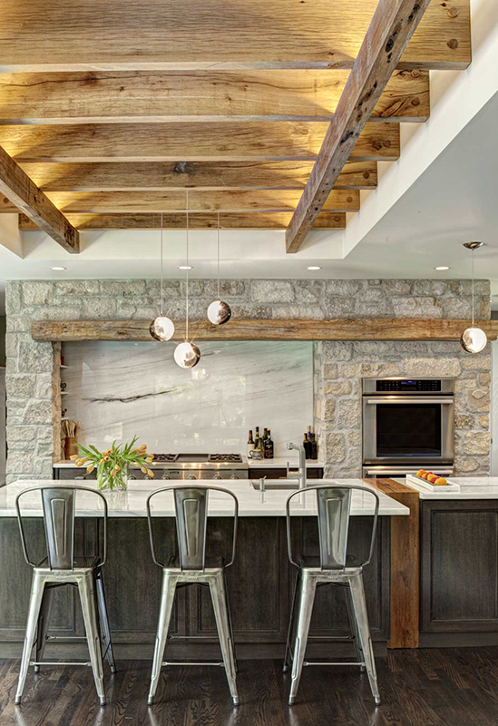 Kitchen Trends: Modern Rustic Farmhouse - Callier and Thompson on Rustic Farmhouse Kitchen  id=46928