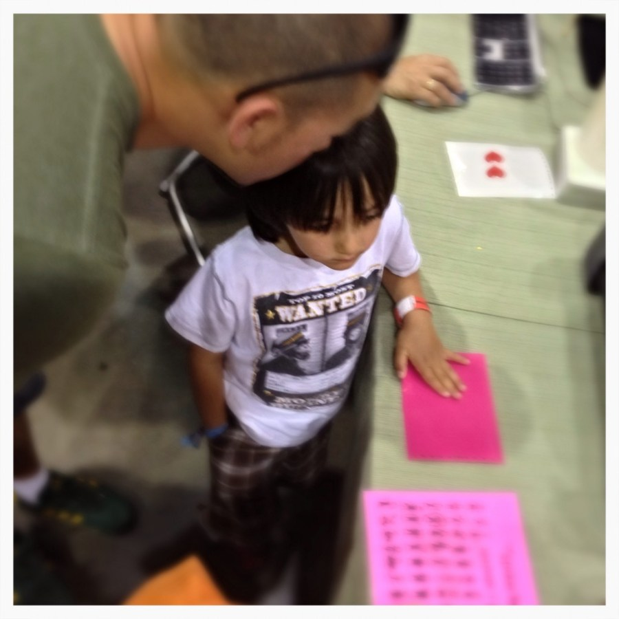 Making Vinyl Stickers at Maker Faire