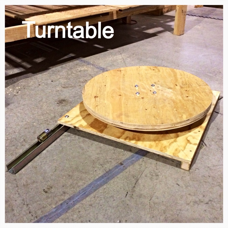 Turntable for 3D Scanning