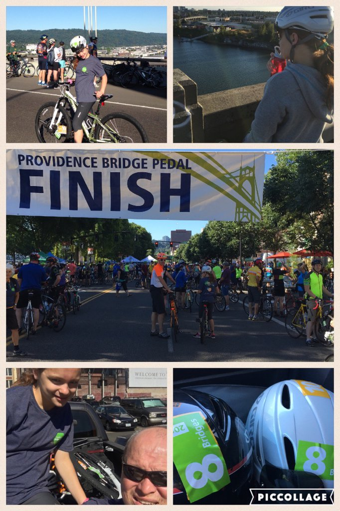 Another Father-Daughter Bridge Pedal #BridgePedal2016…