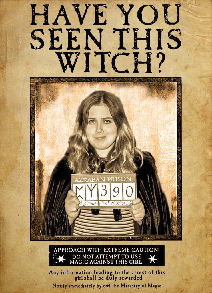 Harry Potter Wanted Poster Callies Adventures