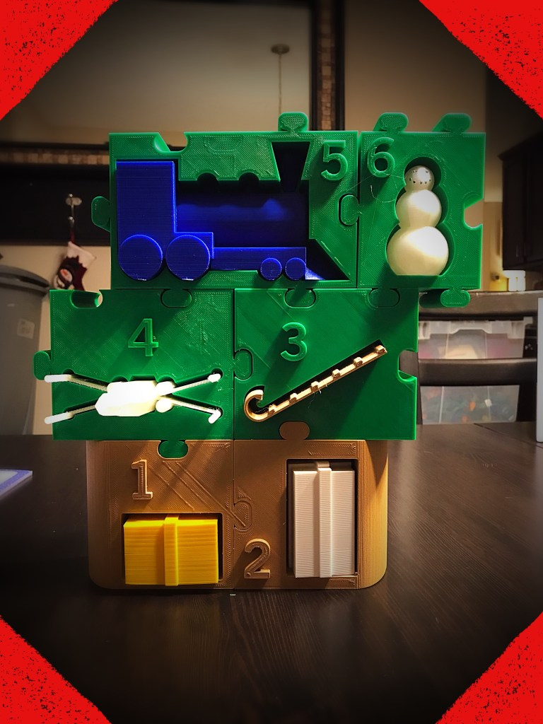Day 6 of the 3D-Printed Advent Calendar