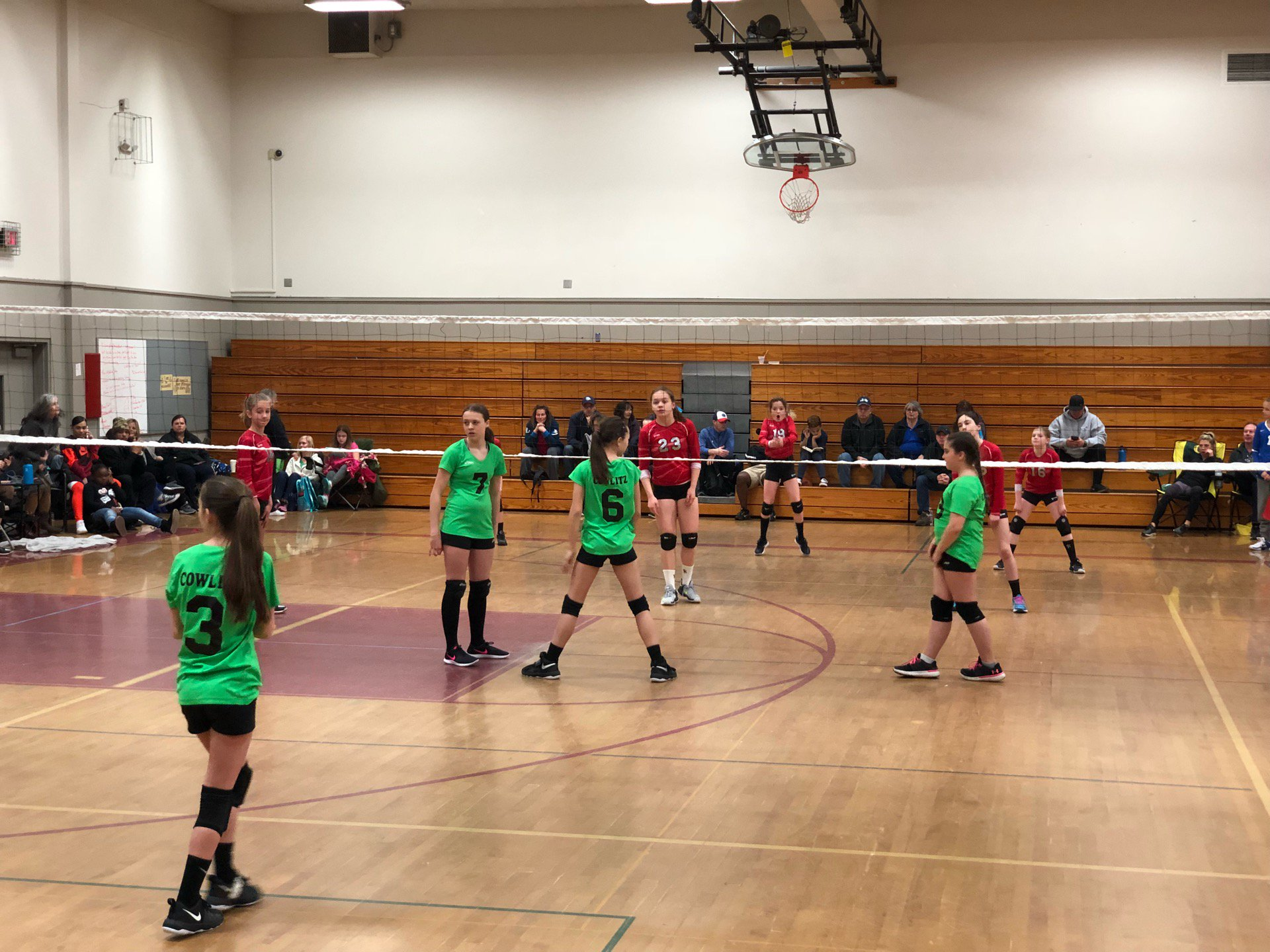 Volleyball tournament (@ Coweeman Middle…