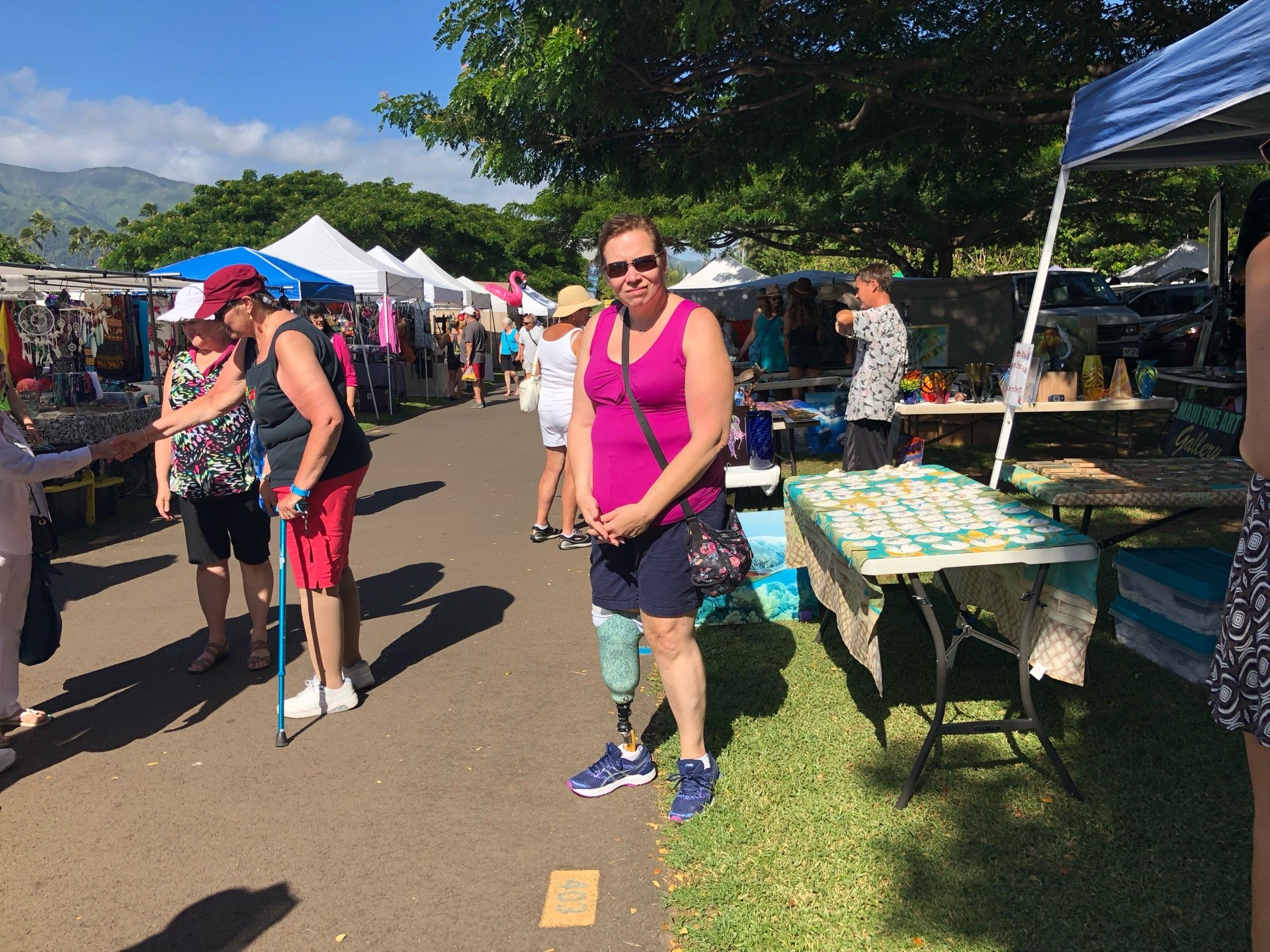 I'm at Maui Swap Meet…