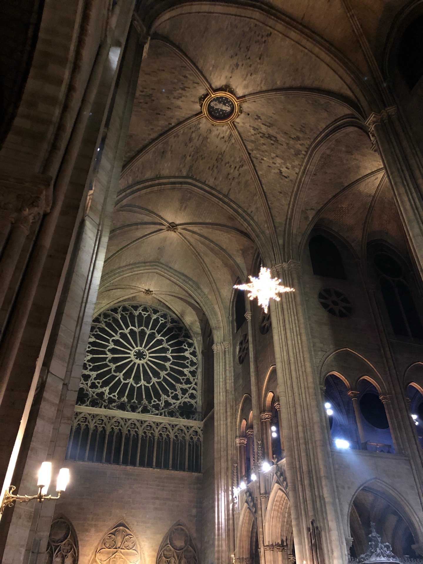 I'm at Cathedral of Notre…