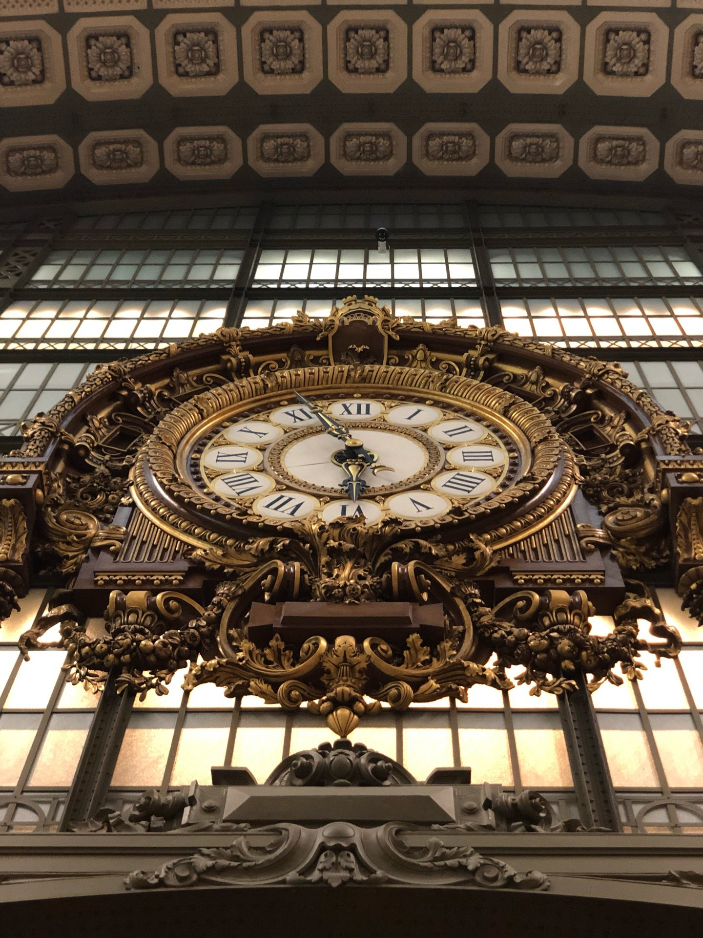 I'm at Orsay Museum -…