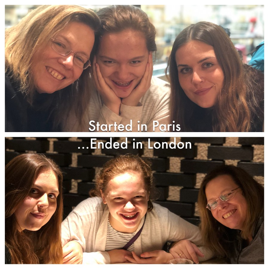 Started in Paris…Ended in London