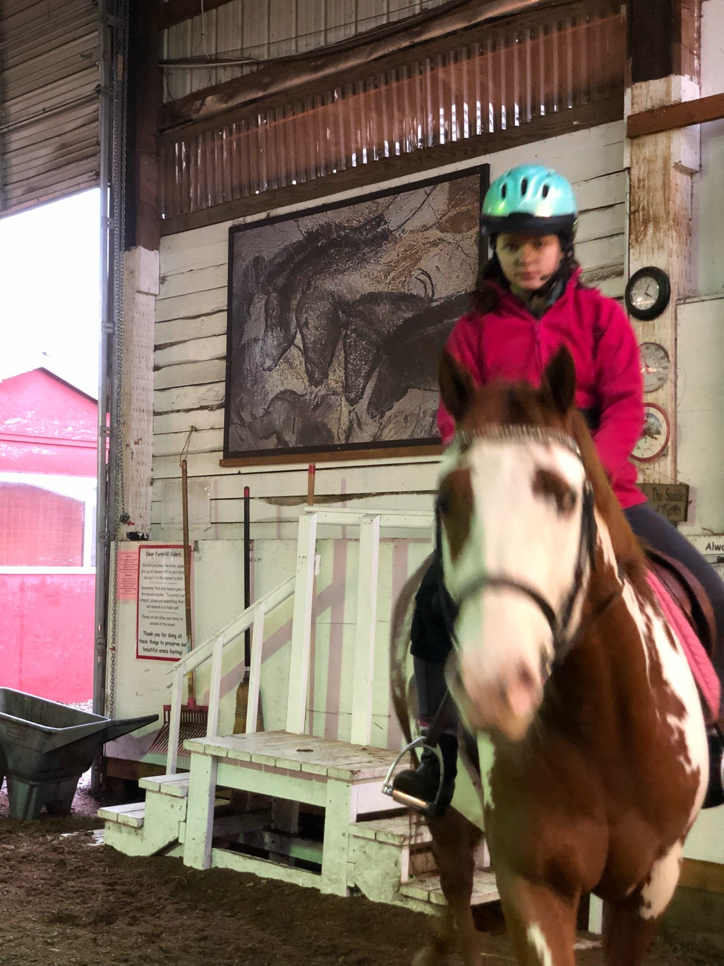 I'm at FarmHill Equestrian Center…
