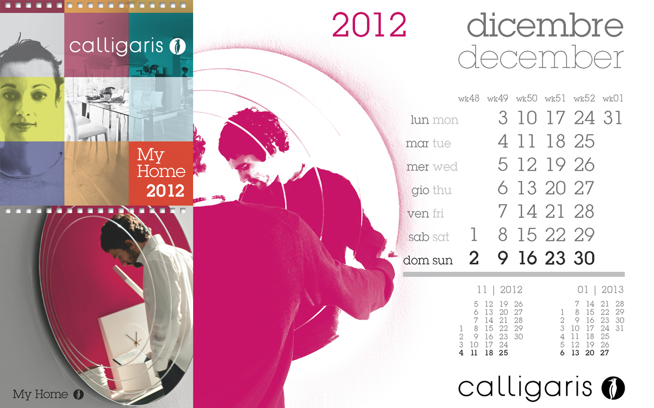 Calligaris My Home: Dicembre 2012