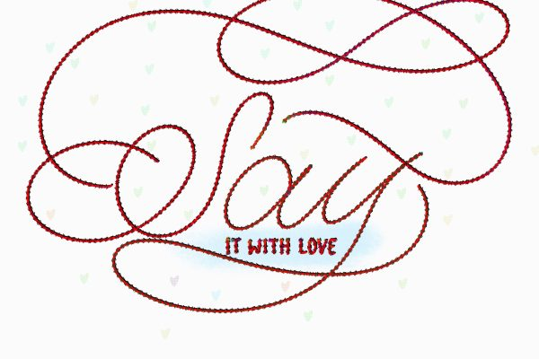 say it with love1