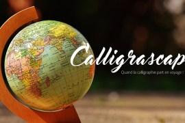 une_calligrascape - Calligraphique