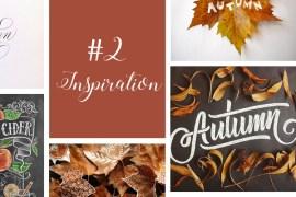 Calligraphique - Inspiration automne