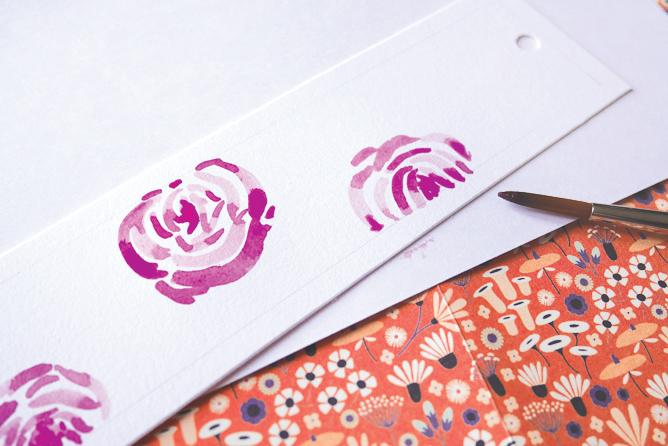 Tuto marque-page Fête des Mères - Calligraphique