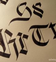 Blackletter (Gothic) for Beginners