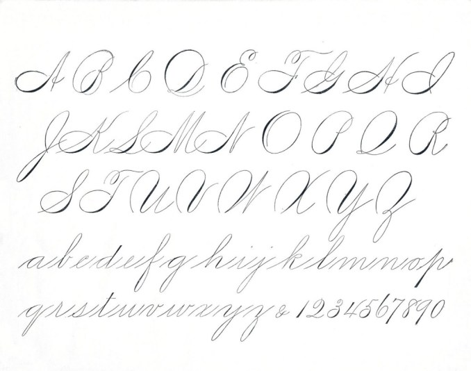 Modern Calligraphy For Beginners Basic Strokes Free Practice Sheets