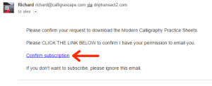 Allowing through an email spam filter tutorial 2