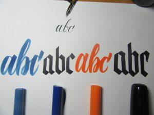 Ink on Cardstock paper test Full