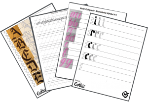 Free Printable Calligraphy Practice Sheets