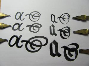 Special Calligraphy Nib Types