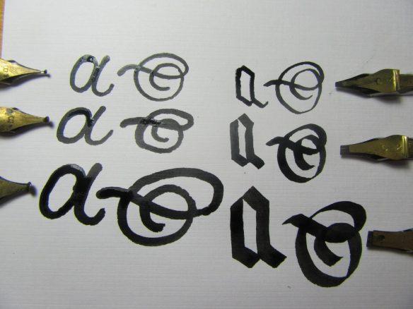 Monoline Calligraphy Examples