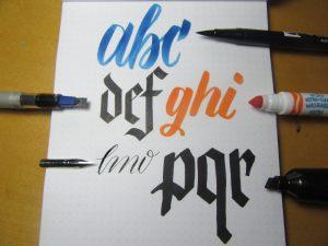 Ink on Rhodia Dotpad Paper test Full