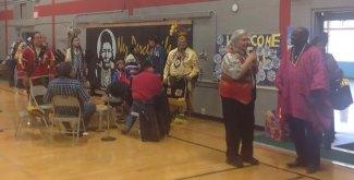 The Nez Perce welcome the Maasai